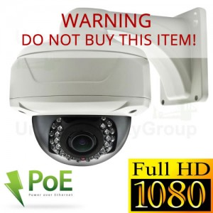 Sony Chip Camera 1080P CCTV photo