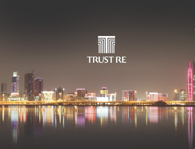 Trust Re - Bahrain after dark skyline photo