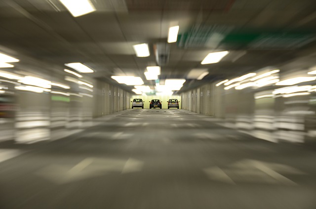 cars exiting tunnel