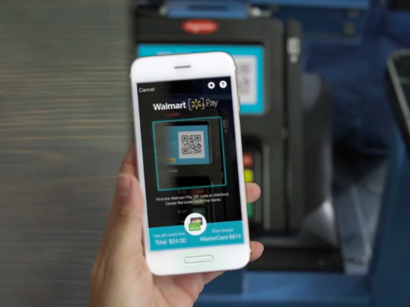 Walmart Pay App using Quick Read (QR) Code technology