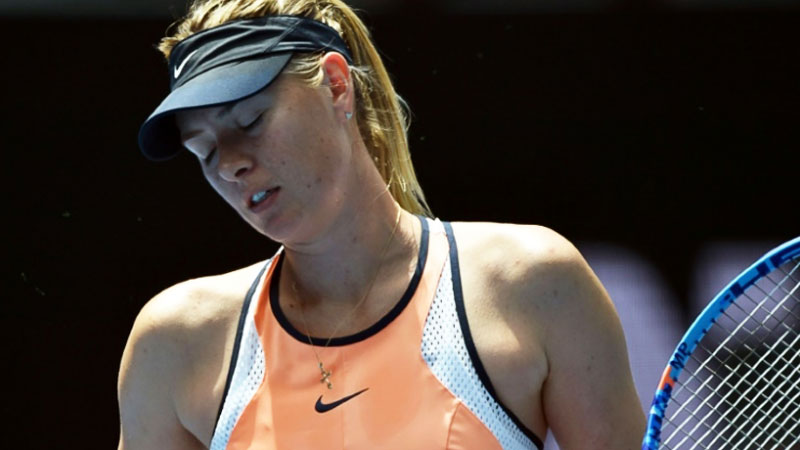 Sharapova's disappointment after positive drug tests