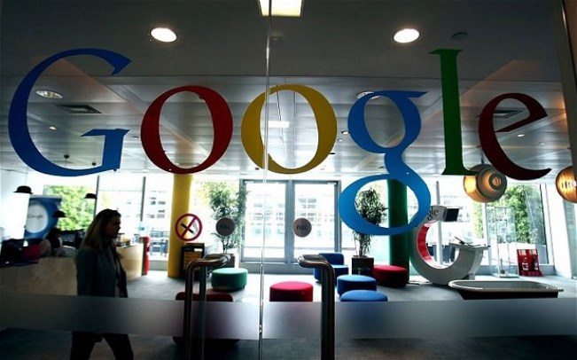 Google France office