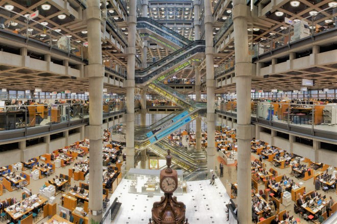 Inside Lloyd's of London