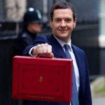 George Osborne red case
