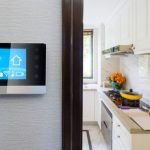 Smart home controlled via wall-mounted control-panel