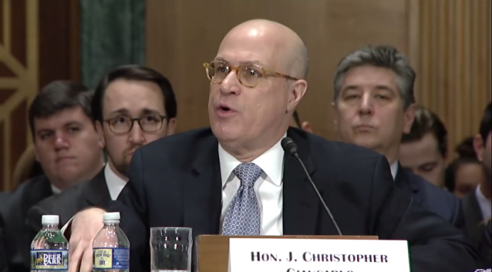 US CFTC Christopher Giancarlo discussing ICOs during virtual currencies meeting