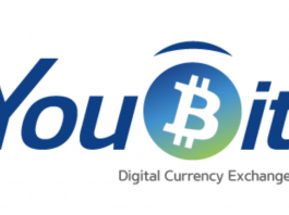 Youbit currency exchange logo