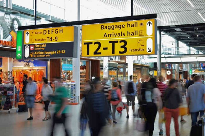 travel insurance - passengers transit through airport
