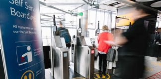 British Airways biometric self-boarding gates